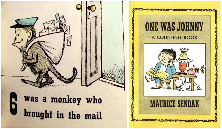 6 was the monkey who brought in the mail
